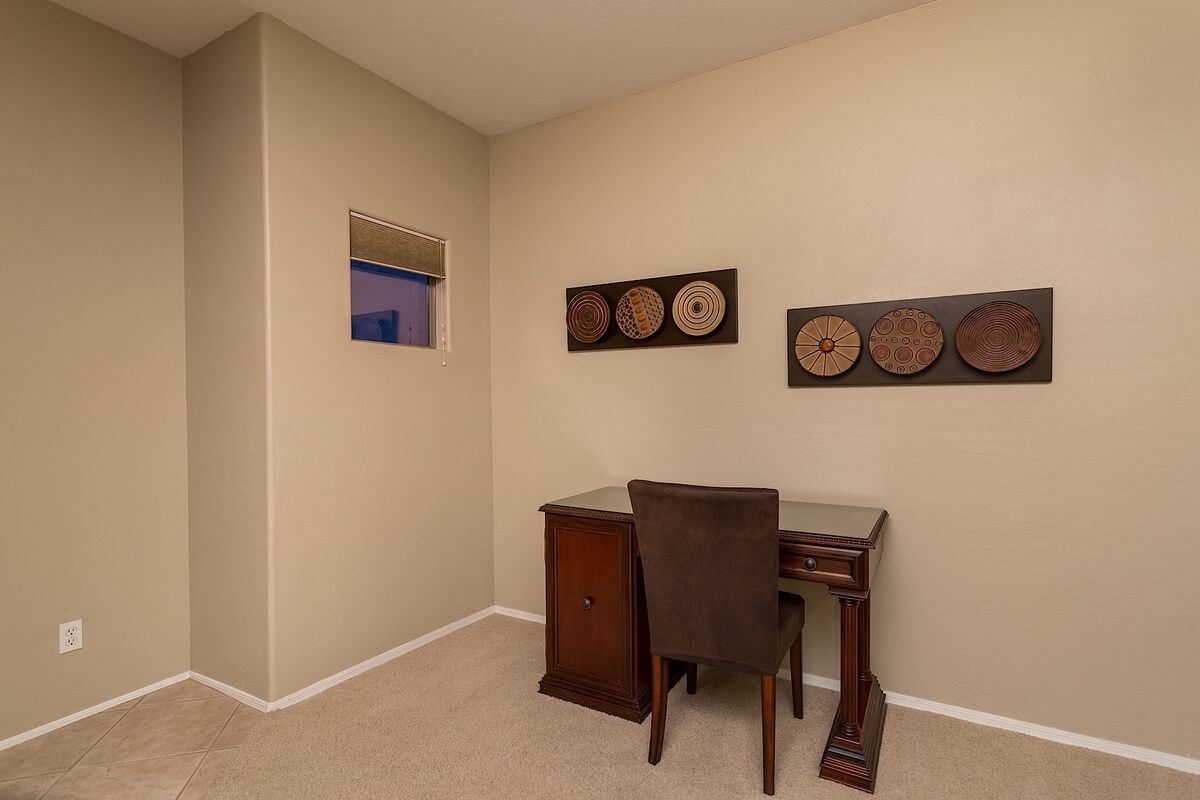 Small Office area in master Bedroom