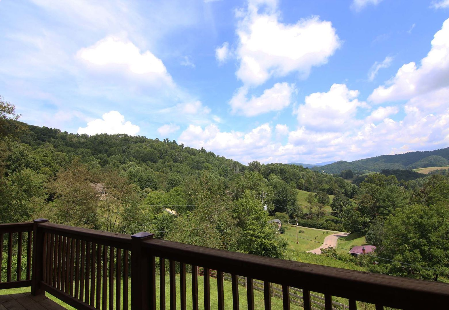 Views from the deck