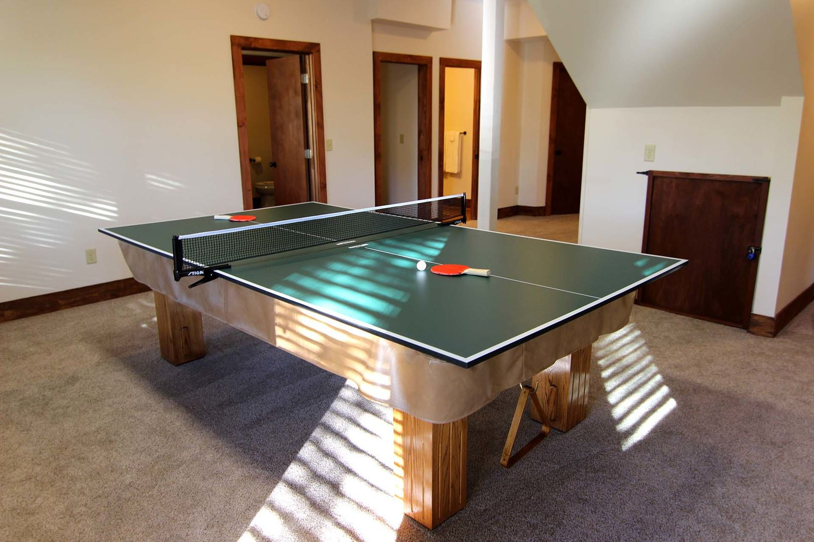 Ping Pong table in the game room!