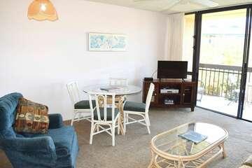 Living area open to lanai