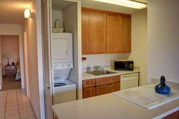 Washer and dryer available to guests