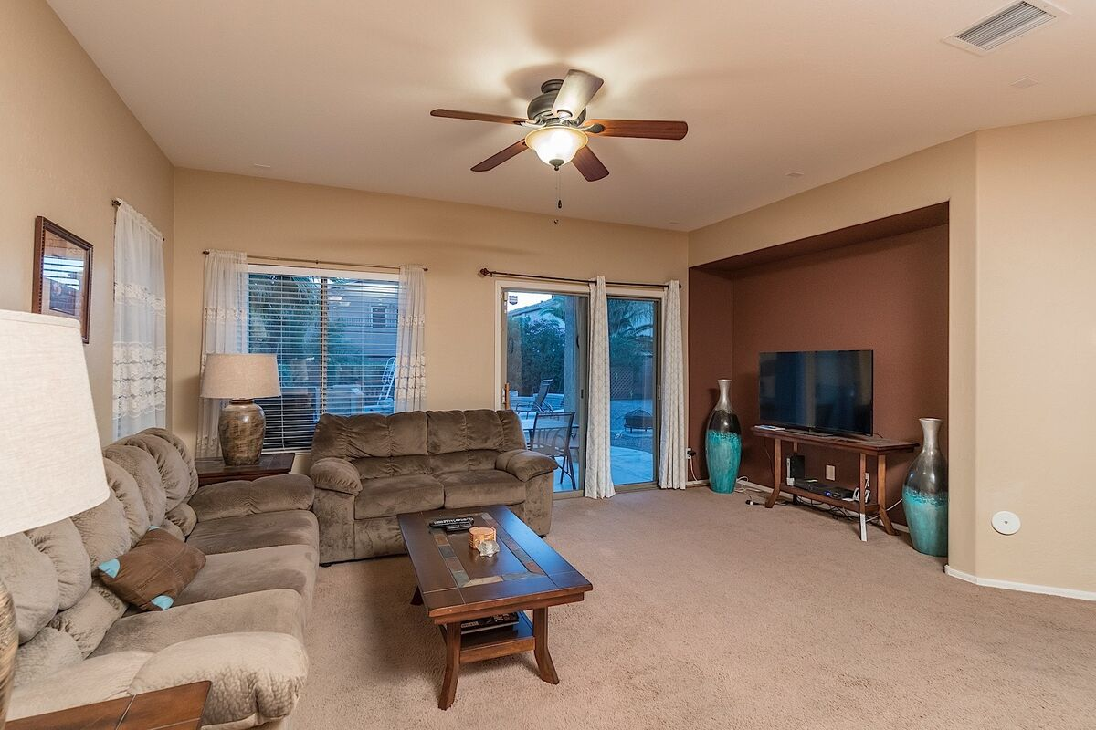 TV with cable in Living Room