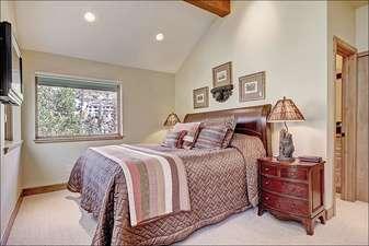 Sixth Bedroom has a Queen Bed