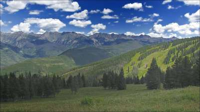 Vail Mountaintop in the Summer