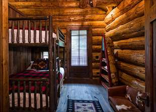 Bedroom 3 -Full over Full Bunk beds with twin bed in loft
