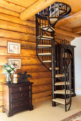 Master Suite stairs to lookout -Star View Lodge