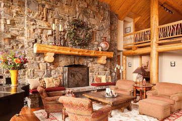 Living Room -Star View Lodge