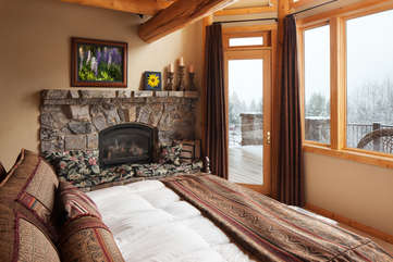 Master Bedroom -Star View Lodge