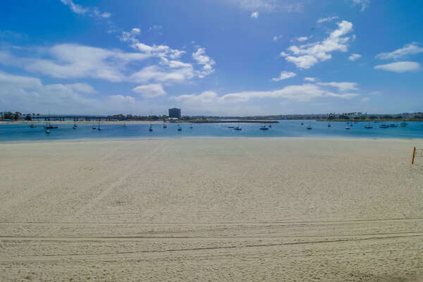 Bayside beach