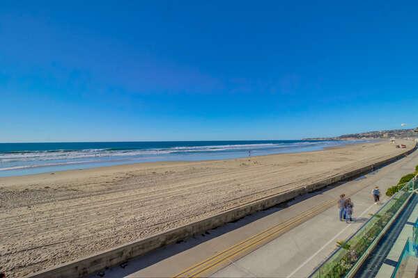 famous Mission Beach boardwalk