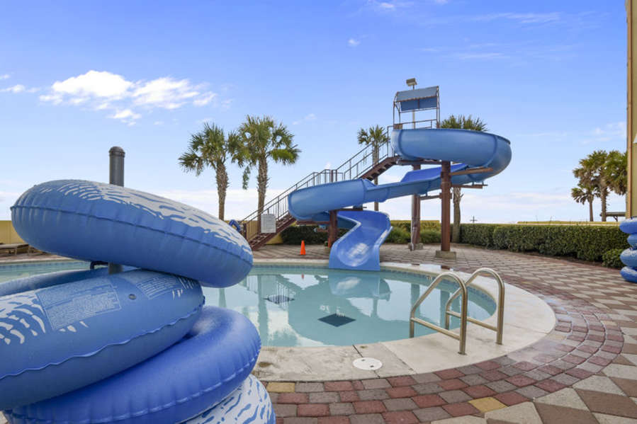 Beach Side Water Slide