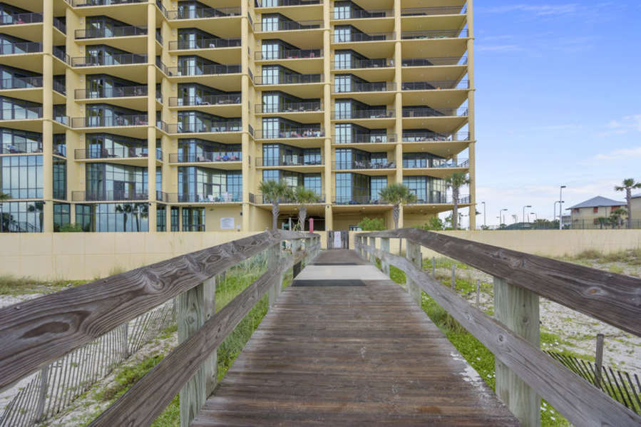 Boardwalk to the Condo