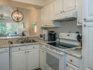 Kitchen is open to the living areas