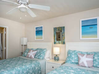 Ceiling fan for added comfort