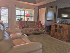 Living Area overlooks Screened Porch