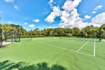 2 Community Tennis Courts Available to All Guests! Get Your Swing ON!