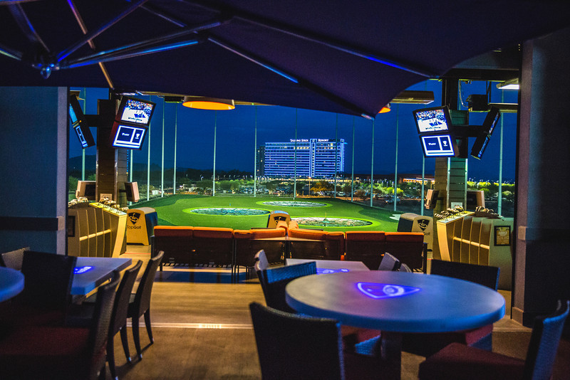 Get your golf game out at Top Golf in Scottsdale