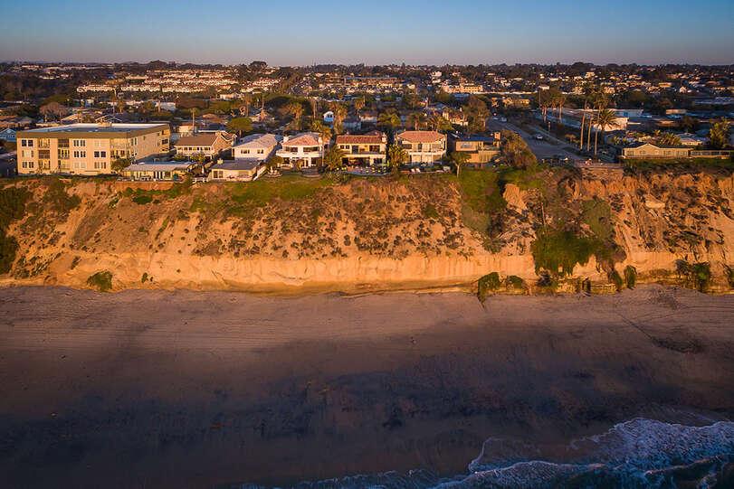 Beach access is a short walk away