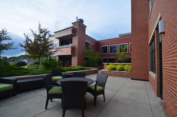 Enjoy access to the Howelsen Place elevated outdoor patio with great valley and towns views.