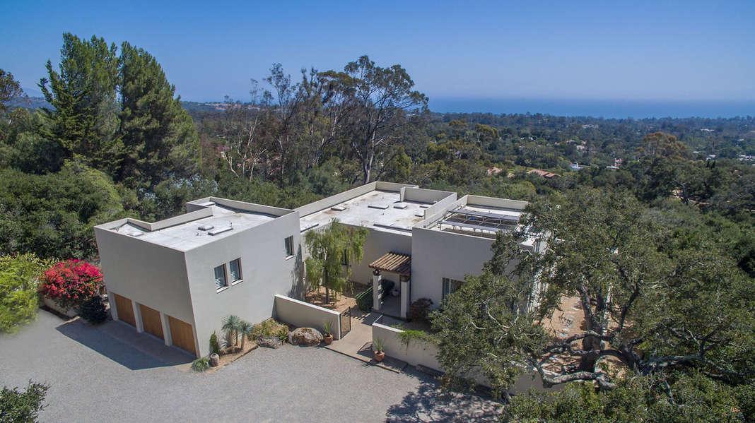 Montecito & Santa Barbara beneath you