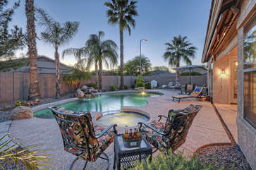 Vacation home is what dreams are made of with spectacular indoor and outdoor amenities!