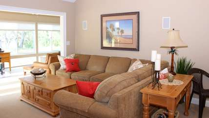 A spacious sectional for gathering.