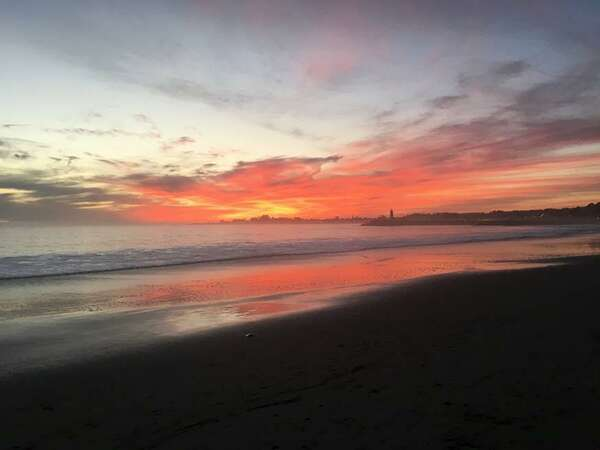 Sunset at Seabright Beach