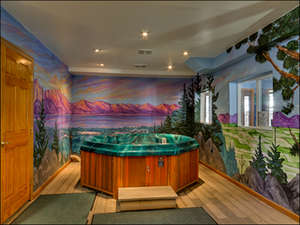 An Oasis for a Hot Tub