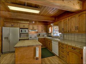 Beam Exposed Kitchen