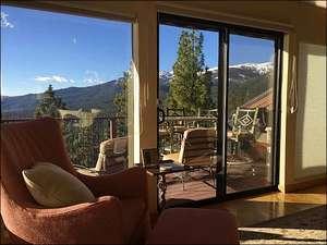 Enjoy Beautiful Views from Living Room