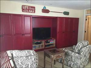 Separate TV Room with DVD Player