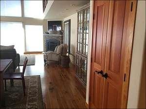Beautiful Hard Wood Flooring Catches the Light