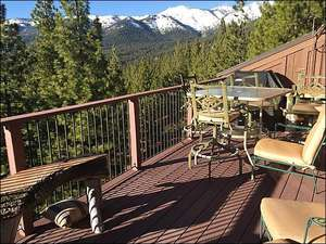 Sunny Deck with BBQ and Seating Areas