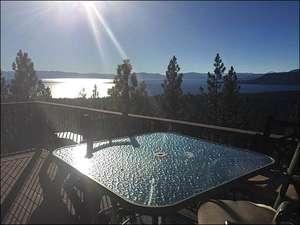 Breathtaking Views Abound from Deck