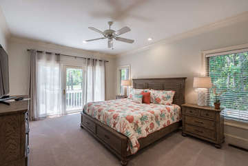 All new furniture has been purchased for this beautiful home including this master bedroom with plenty of storage.