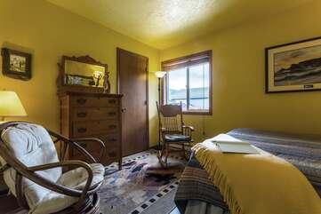 Enjoy the comfort of the second bedroom.