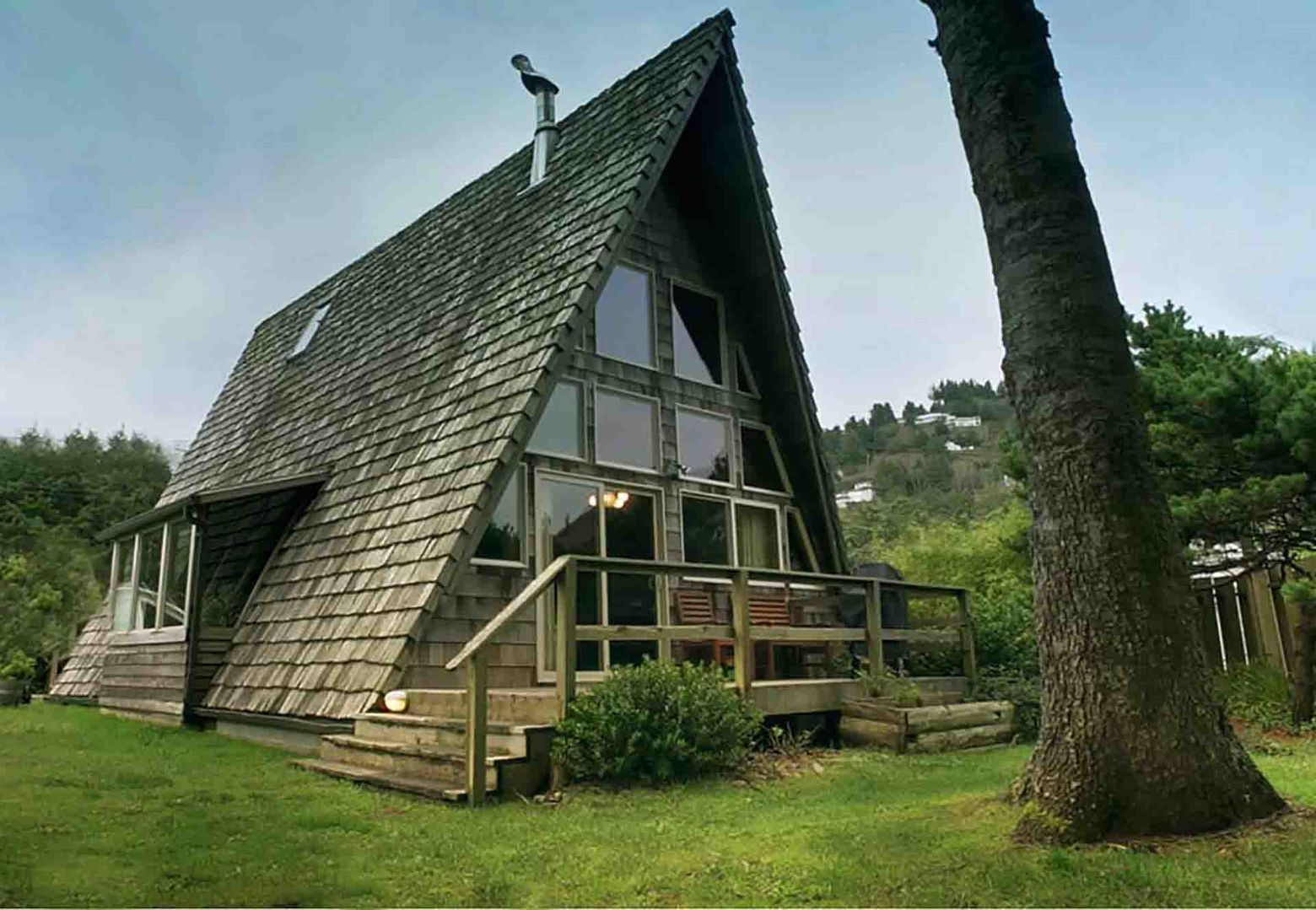 The coolest house in Yachats, oh yes!