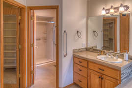 King Master Bathroom (downstairs)