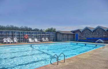 Seasonal swimming available at the Bayshore Club.