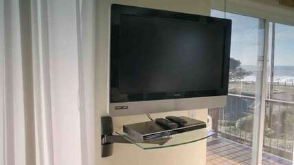 HDTV and Blue-Ray smart DVD.