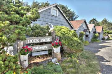 Welcome to Rock Park, a Yachats landmark.