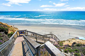 Your beach access stairs....