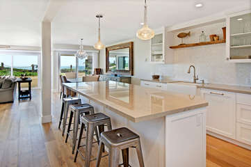 Stunning kitchen with everything you might need for your perfect meal