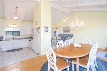 Kitchen, Dinning, & Living room areas. Light & bright with terrific ocean view
