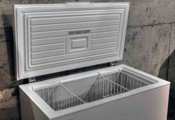 Freezer in garage for your daily catch or Costco run.