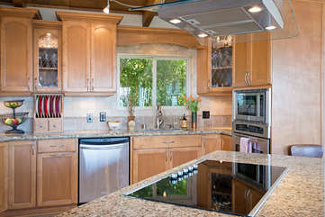 Chef's dream kitchen