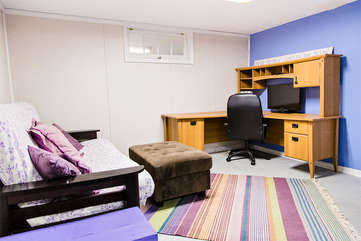 Office space in the basement