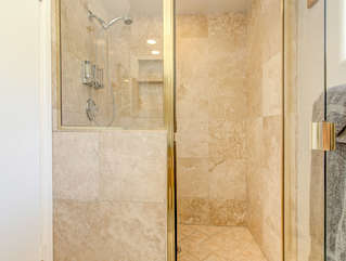 Studio apt shower