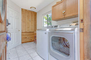 Brand new full size washer and dryer