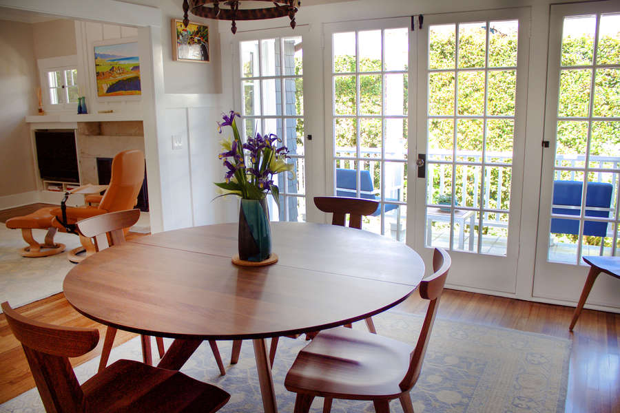 Dining Room w/access to patio